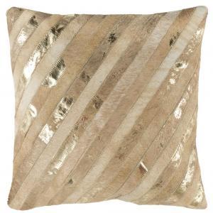 LATTA METALLIC COWHIDE  Pillow