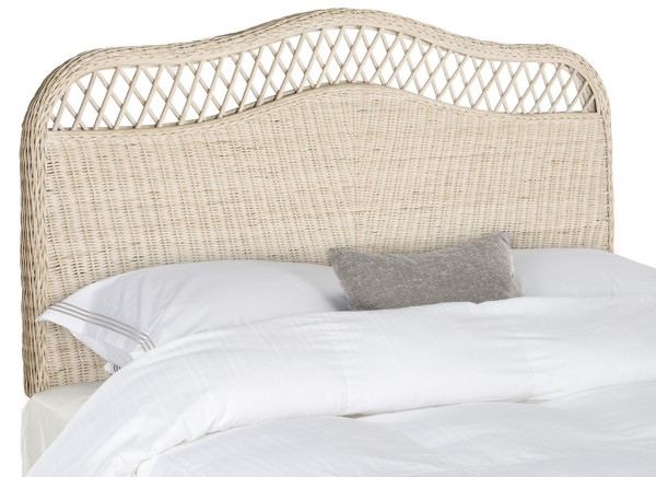 Sephina White Washed Headboard Headboards Furniture By
