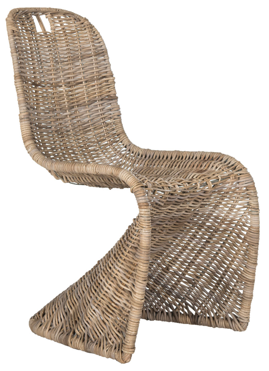 Cilombo 19 H Wicker Dining Chair Sea7007a Set2 Chairs