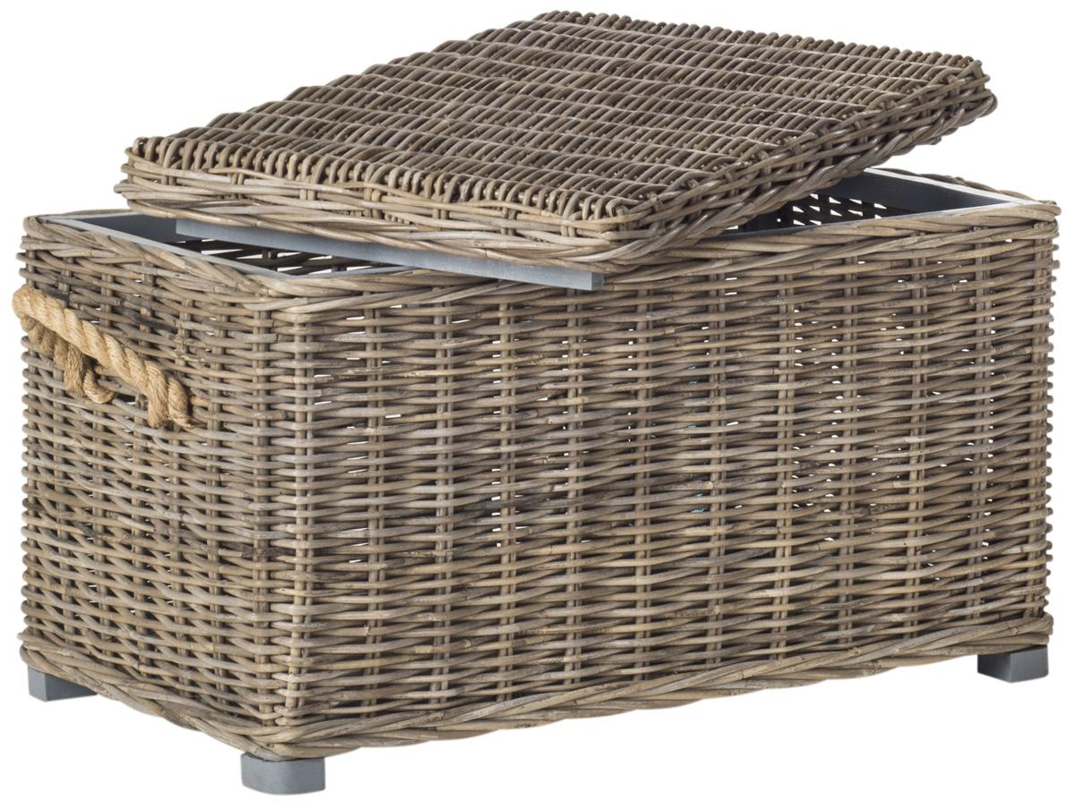 Large Rattan Trunk Coffee Trunk Coffee Table Coffee Table Decor Rattan Coffee Table Modern