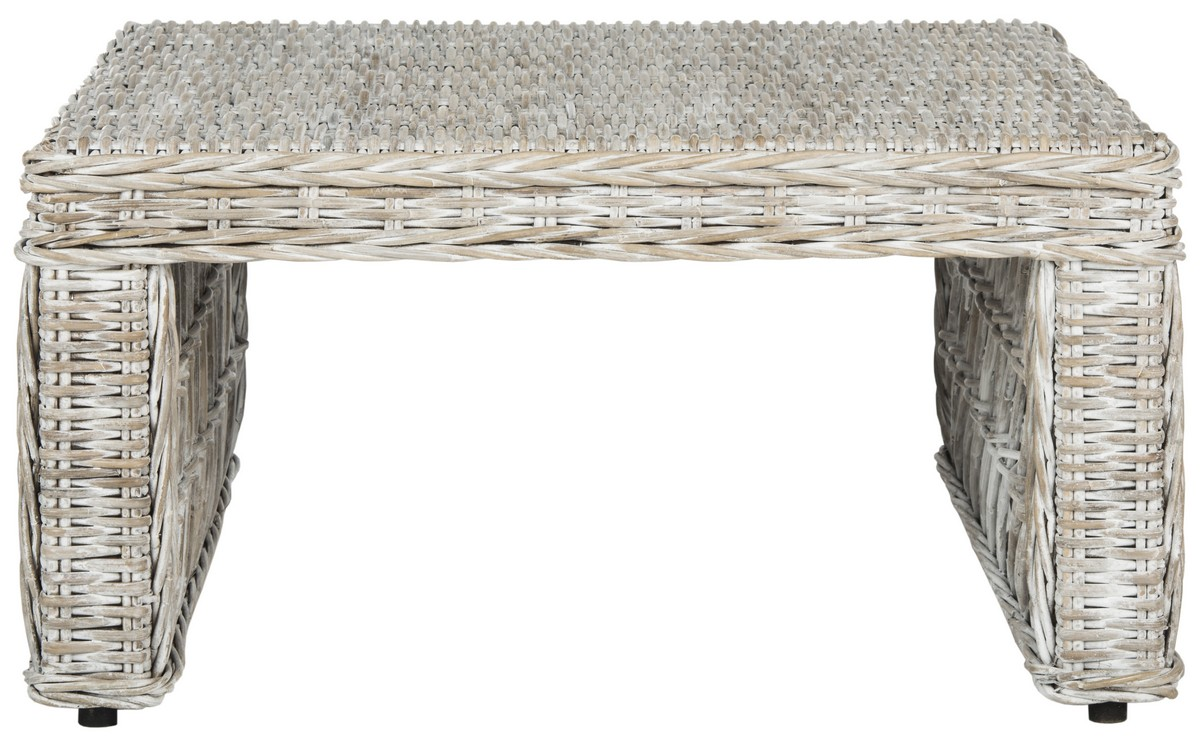 Sea7031a coffee tables furniture by safavieh shila wicker coffee table sea7031a coffee tables geotapseo Image collections