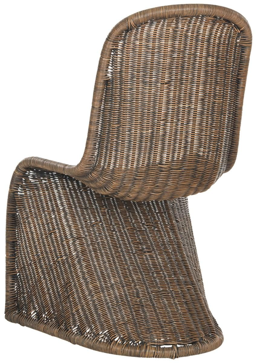 TANA WICKER SIDE CHAIR SEA8009D SET2 DINING CHAIRS