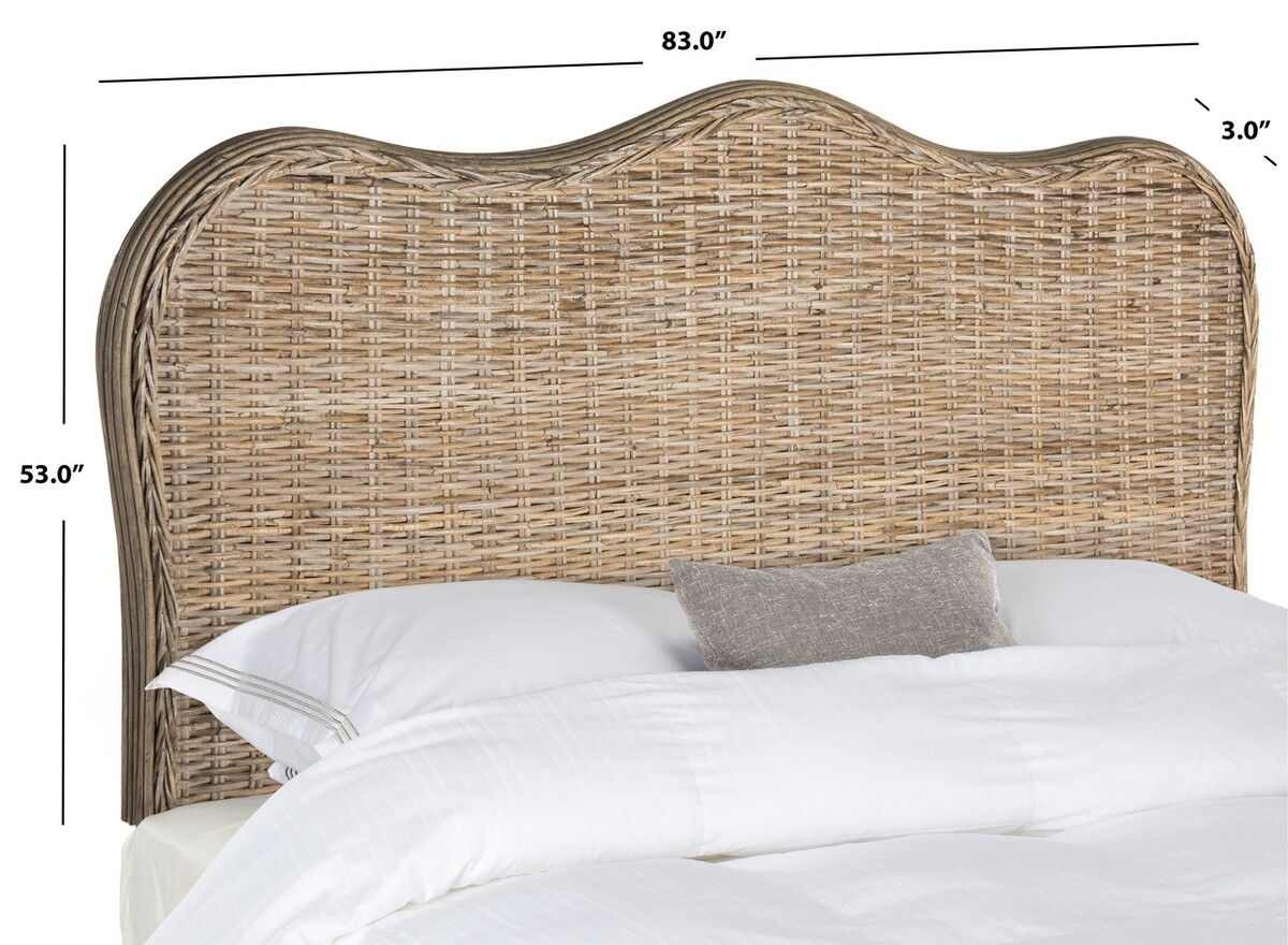 Imelda Grey Headboard Headboards Furniture By Safavieh