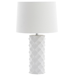 BELFORD TABLE LAMP Item: TBL4093A Color: WHITE   OFF WHITE