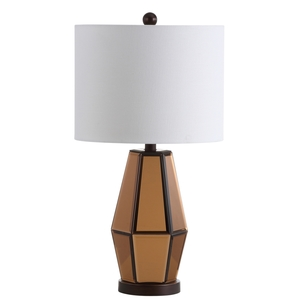Table lamps desk lamp sets safavieh amelie table lamp item tbl4107a color copper dark brown off white aloadofball Choice Image