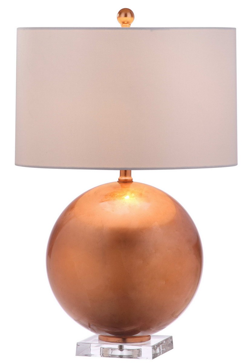 Table lamps desk lamp sets safavieh jenoa 26 inch h table lamp item tbl4028a color copper off white geotapseo Images
