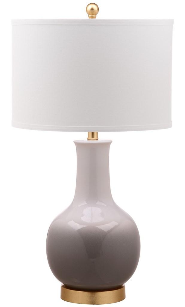 Gray Table Lamps Extraordinary TBL60A Table Lamps Lighting By Safavieh