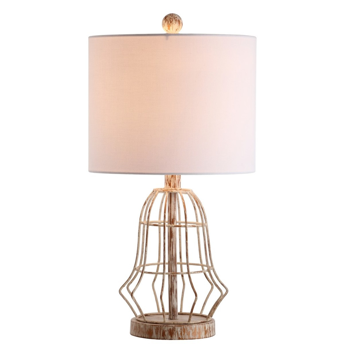 Rustic glow to any living room with this modern table lamp inspired by the warmth and character of vintage industrial style its antique metal finish