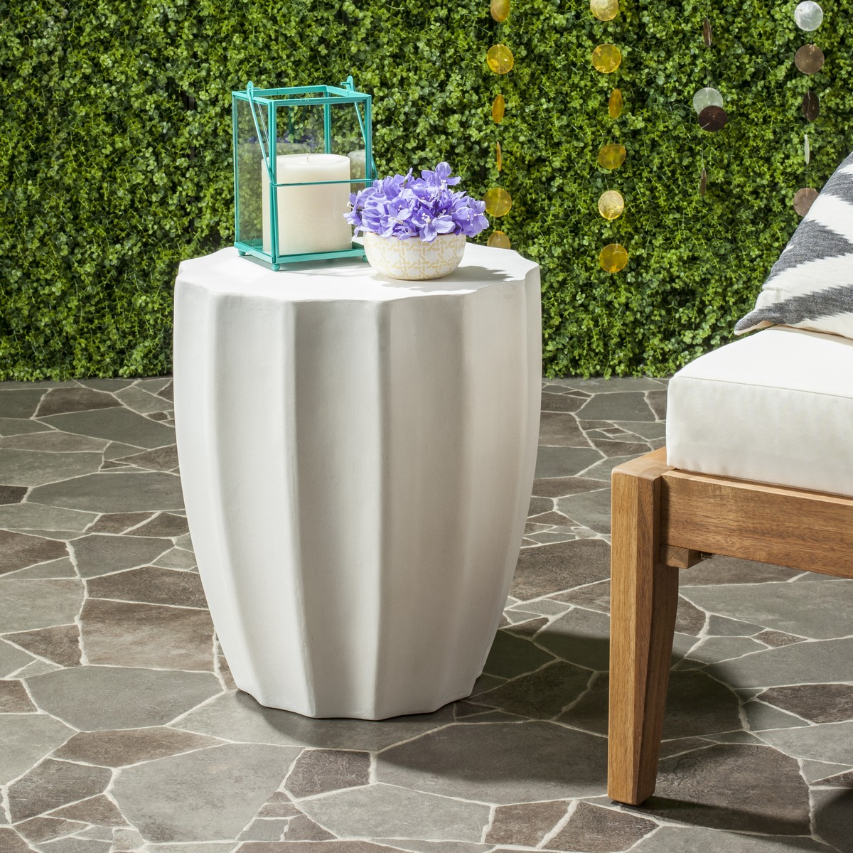 An Exhibition Of Antiquity?s Architectural Marvels At The World?s Top  Encyclopedic Museum Inspired This Contemporary Concrete Accent Table.