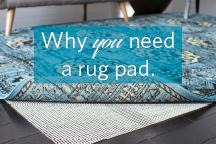 PAD125-811 Safavieh Carpet-to-Carpet Rug Pad 8/' x 11/'