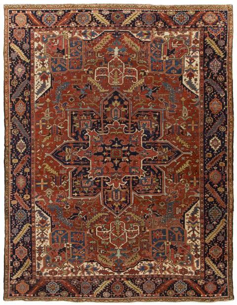 ANT121768 Persian Heriz