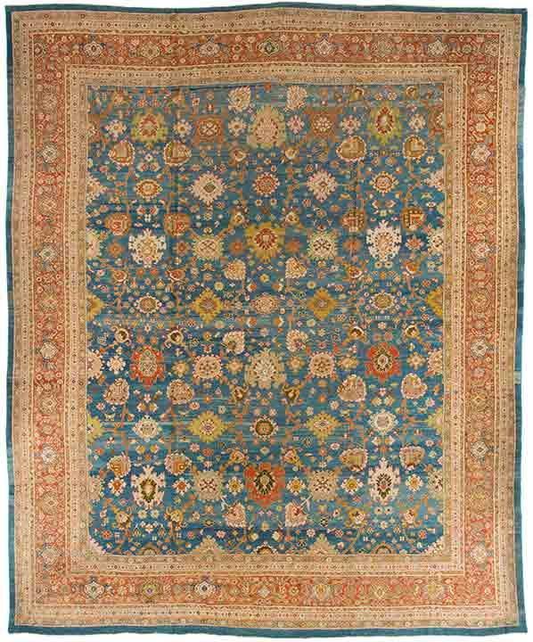 Rug Ant124541 Persian Sultanabad Antique Area Rugs By