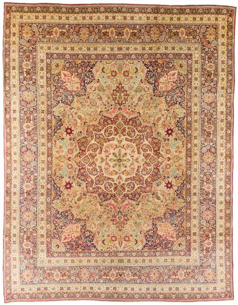 ANT136374 Persian Lavar Kerman