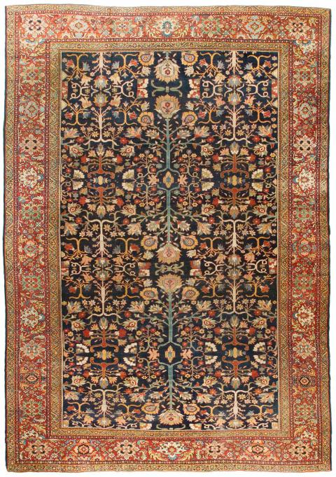 Rug Ant124607 Farahan Antique Area Rugs By Safavieh