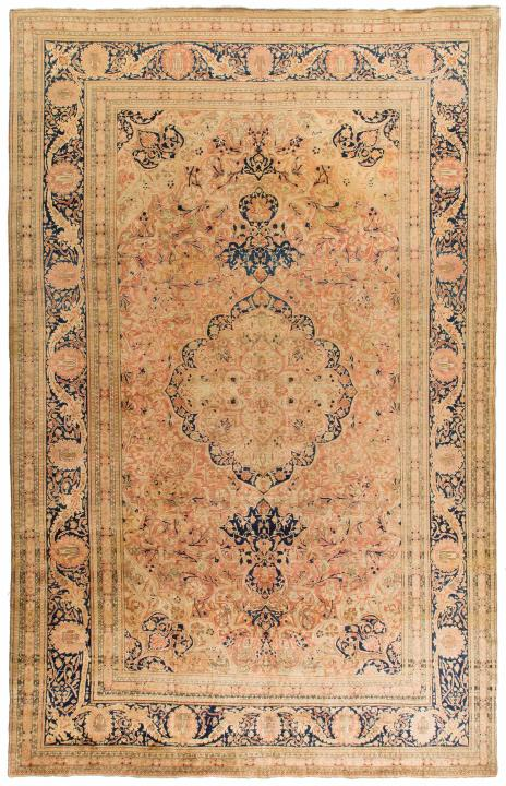 Rug Ant125033 Mohtasham Kashan Antique Area Rugs By Safavieh