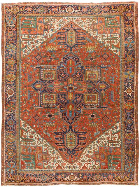 ANT125575 Persian Heriz