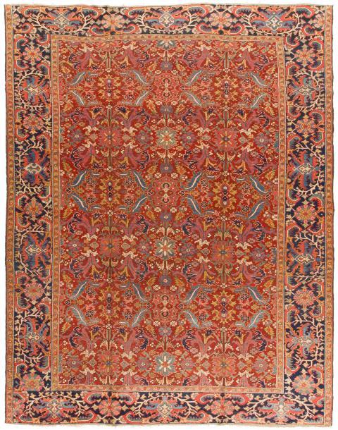 ANT125619 Persian Heriz