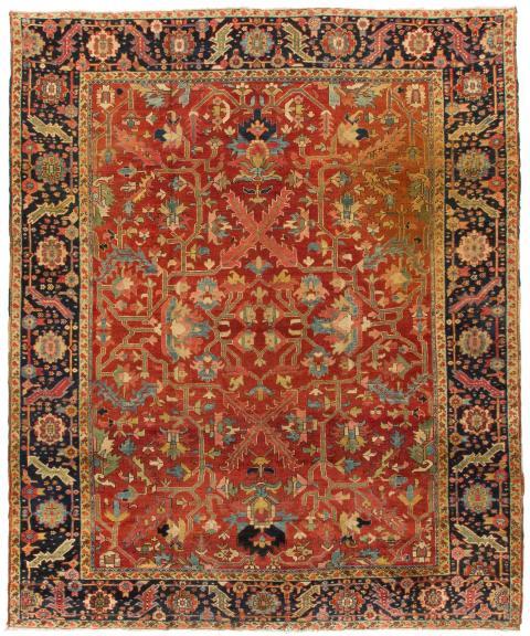 ANT174429 Persian Heriz