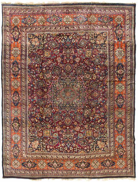 Rug Ant174477 Persian Mashad Antique Area Rugs By Safavieh