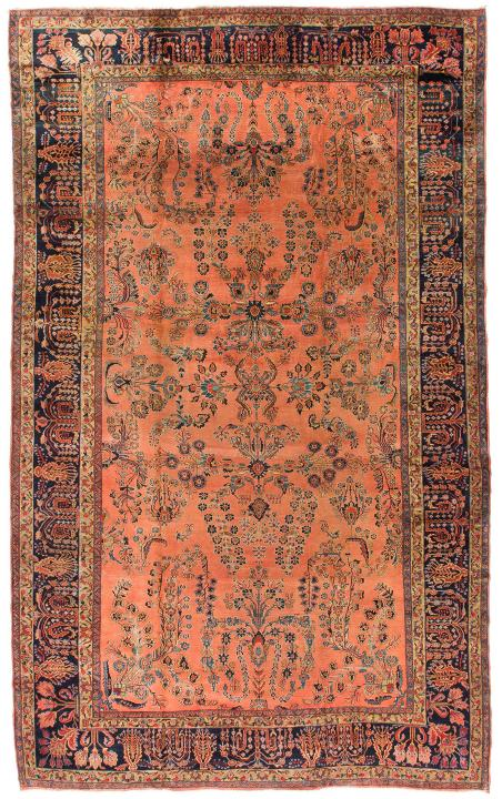 Rug Ant174504 Persian Sarouk Antique Area Rugs By Safavieh