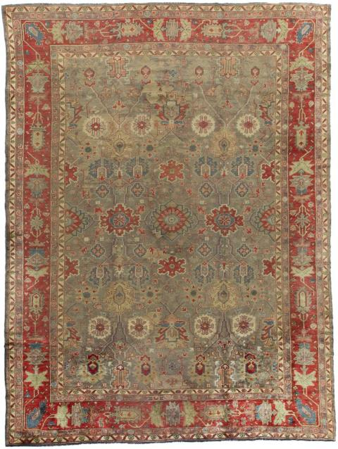 Rug Ant124635 Oushak Antique Area Rugs By Safavieh