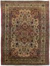 "ANT174608 Persian Kerman - Antique 4' 6"" x 6' 3"""