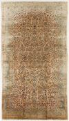 "ANT174897 Persian Kashan - Antique 11' 5"" x 20' 3"""