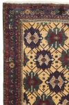 """ANT86647 Persian Afshar - Antique 4' 10"""" x 6' 4"""""""