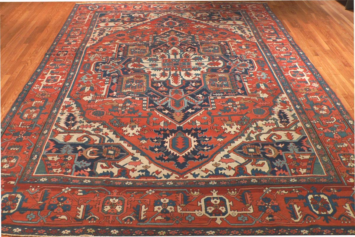 Rug Ant110214 Persian Serapi Antique Area Rugs By Safavieh