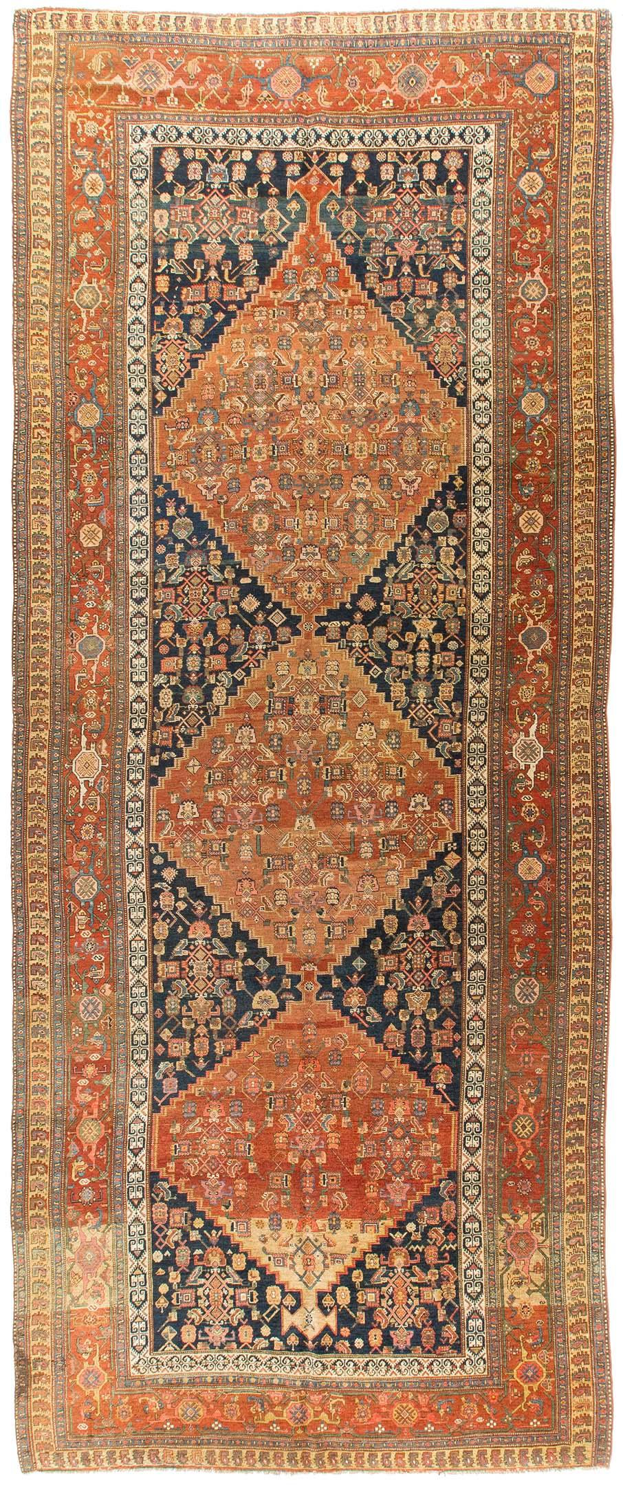 Rug Ant124352 Persian Bidjar Antique