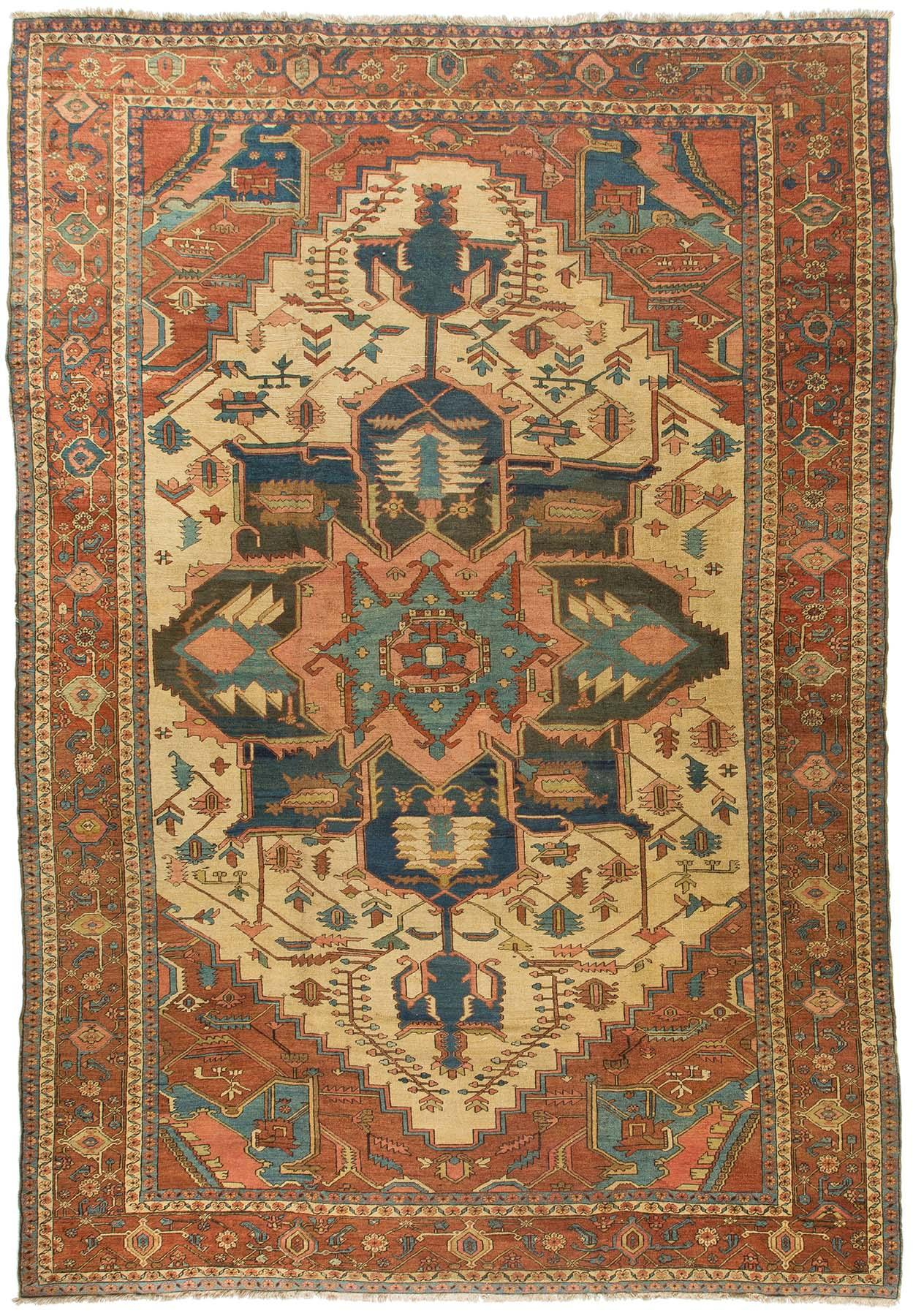 Rug Ant125288 Serapi Antique Area Rugs By Safavieh