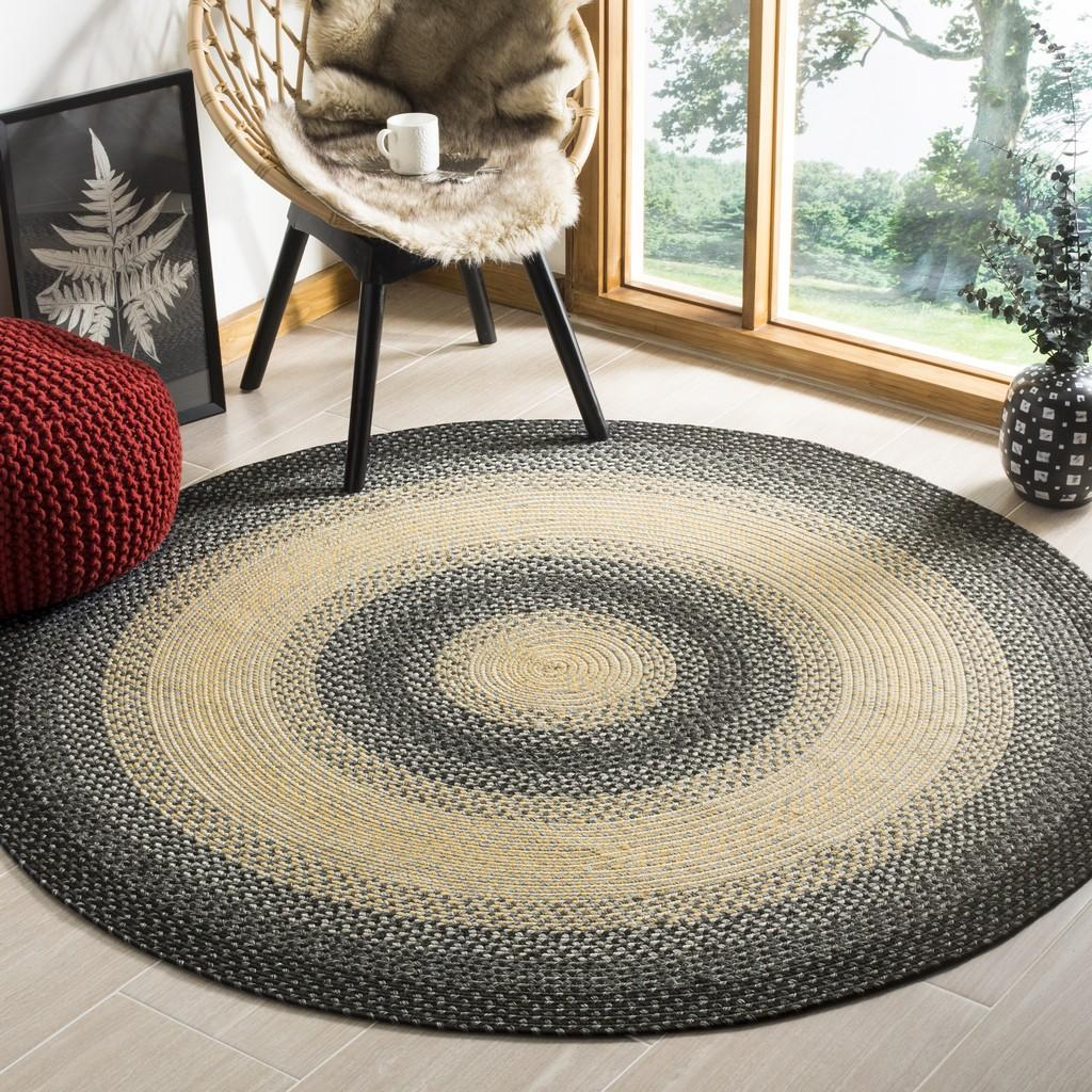 Rug Brd311a Braided Area Rugs By Safavieh