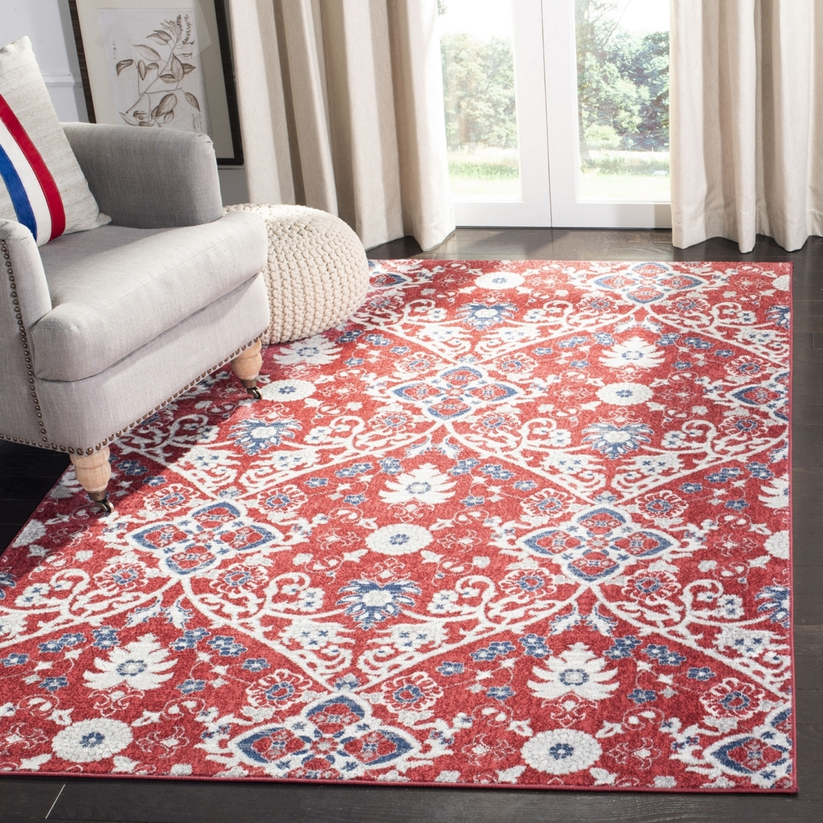 Rug Bnt894r Brentwood Area Rugs By Safavieh