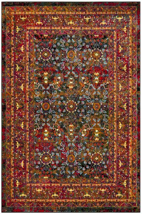 Red Rugs Cherokee Collection Safavieh