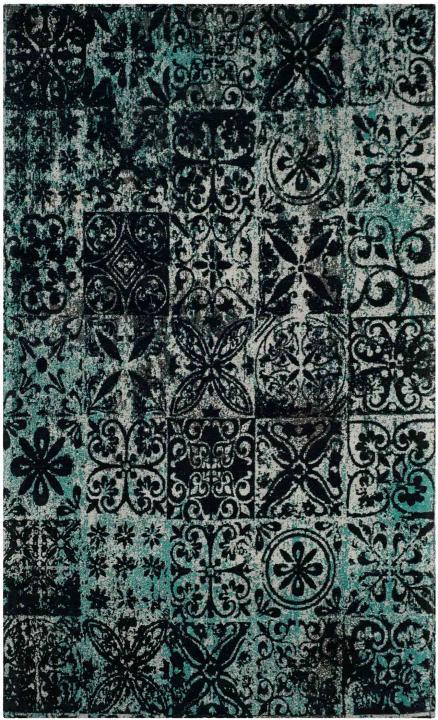 Classic Vintage Distressed Finish Area Rugs Safavieh
