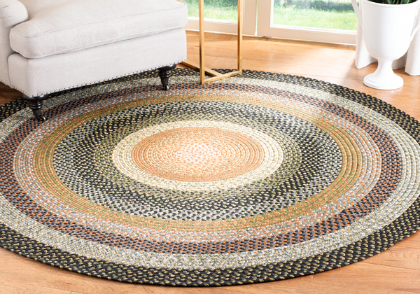 Reversible Braided Rugs The