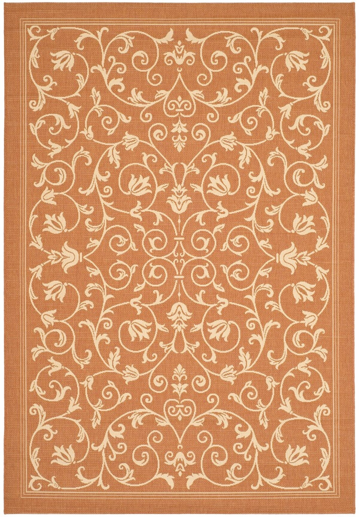 Terracotta Outdoor Area Rug Safavieh Com