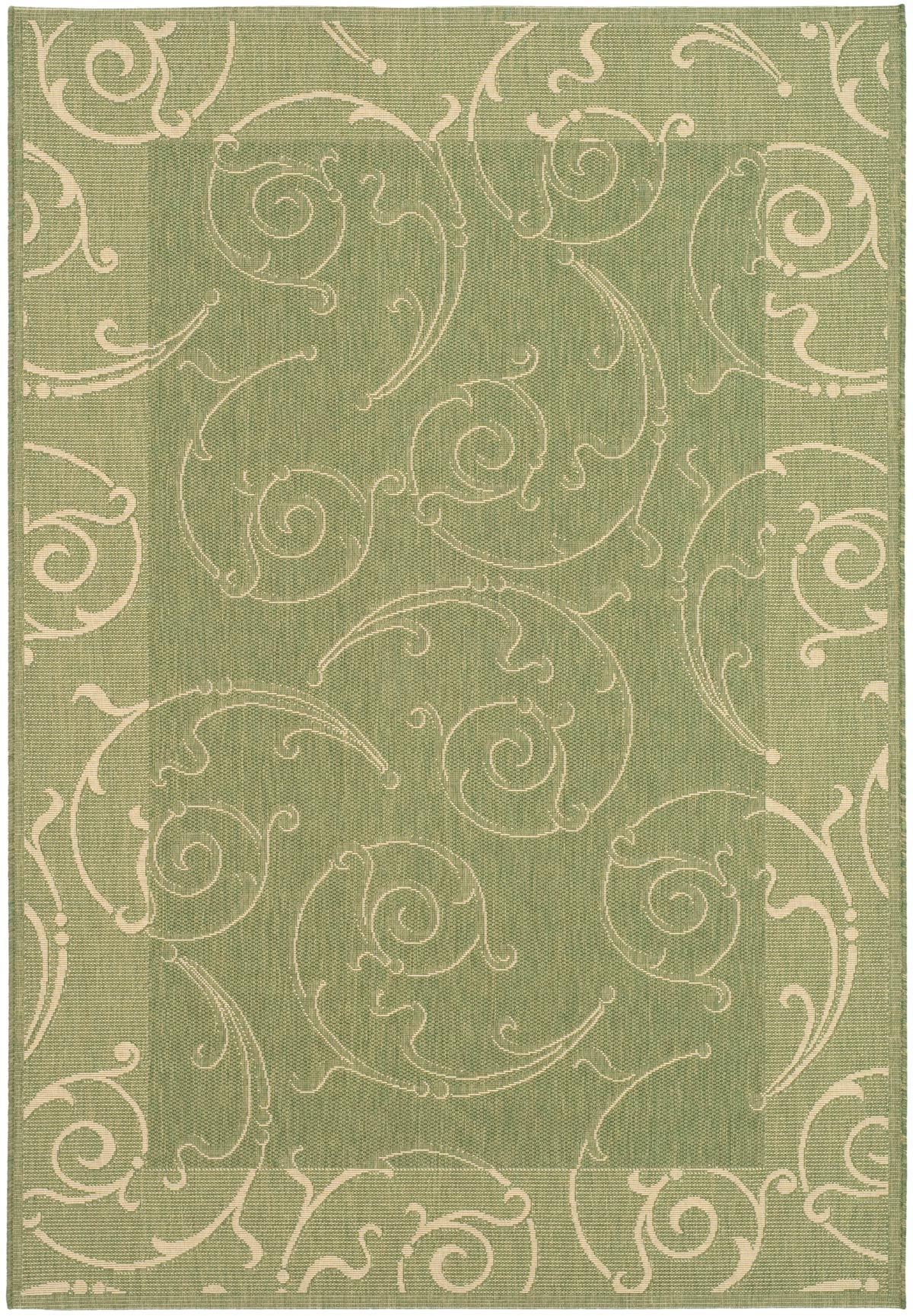 Tone On Tone Green Indoor Outdoor Rug Safavieh Rugs