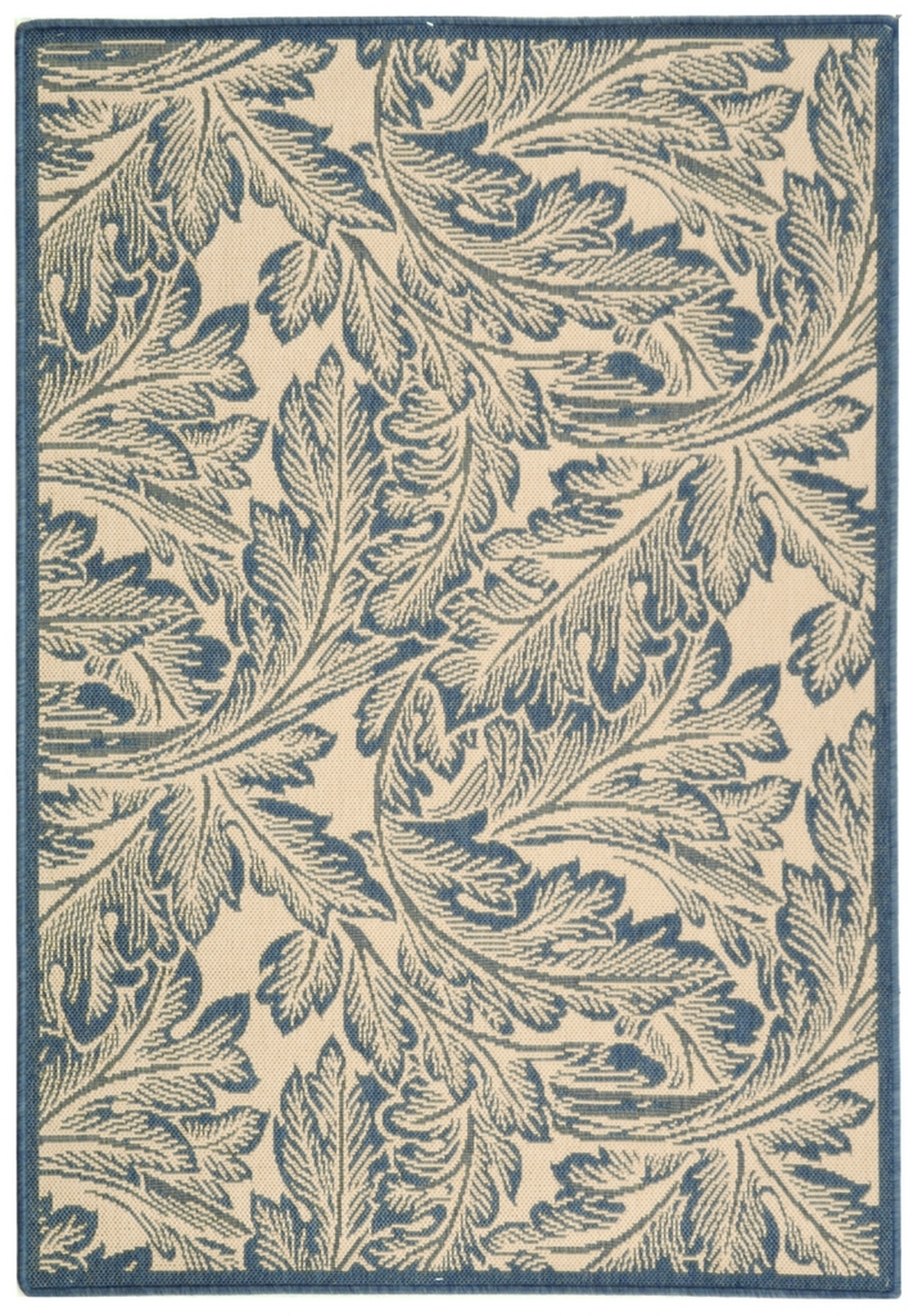 Blue Leaf Area Rug Safavieh Indoor Outdoor Rugs