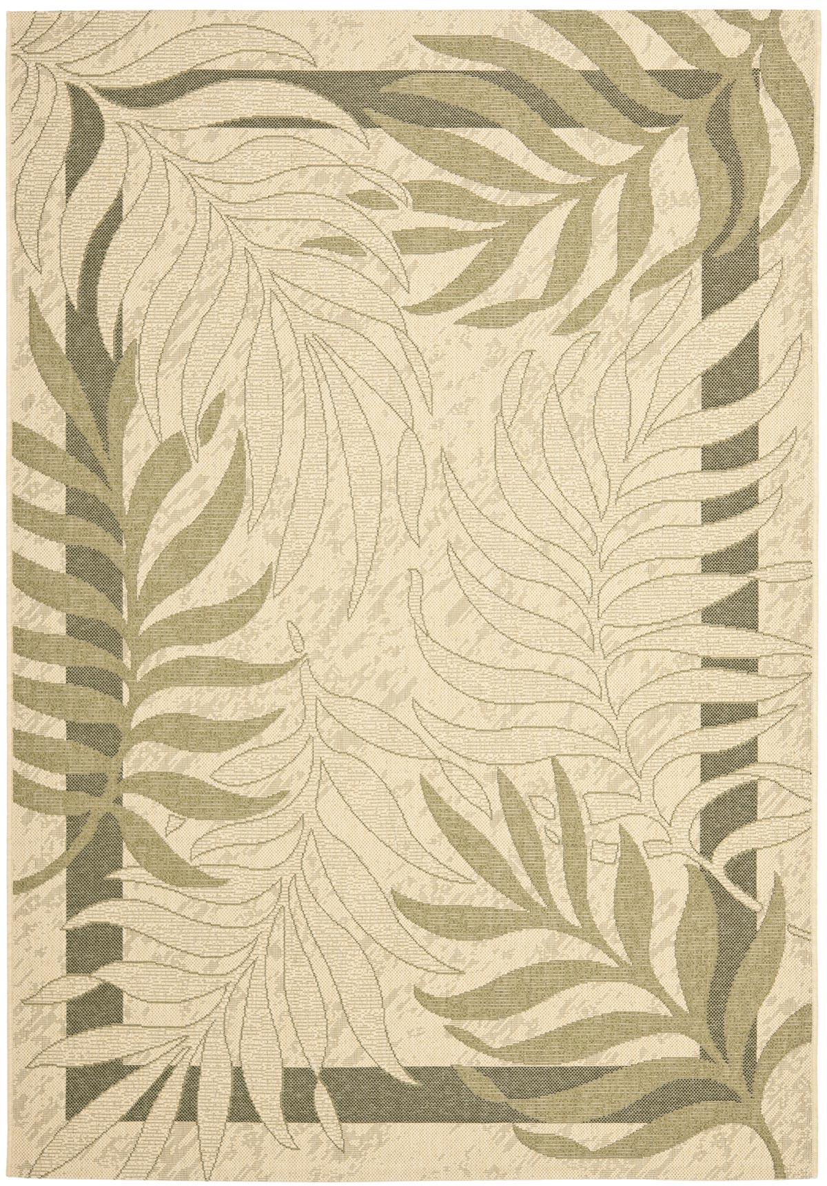 Palm Leaf Outdoor Rug