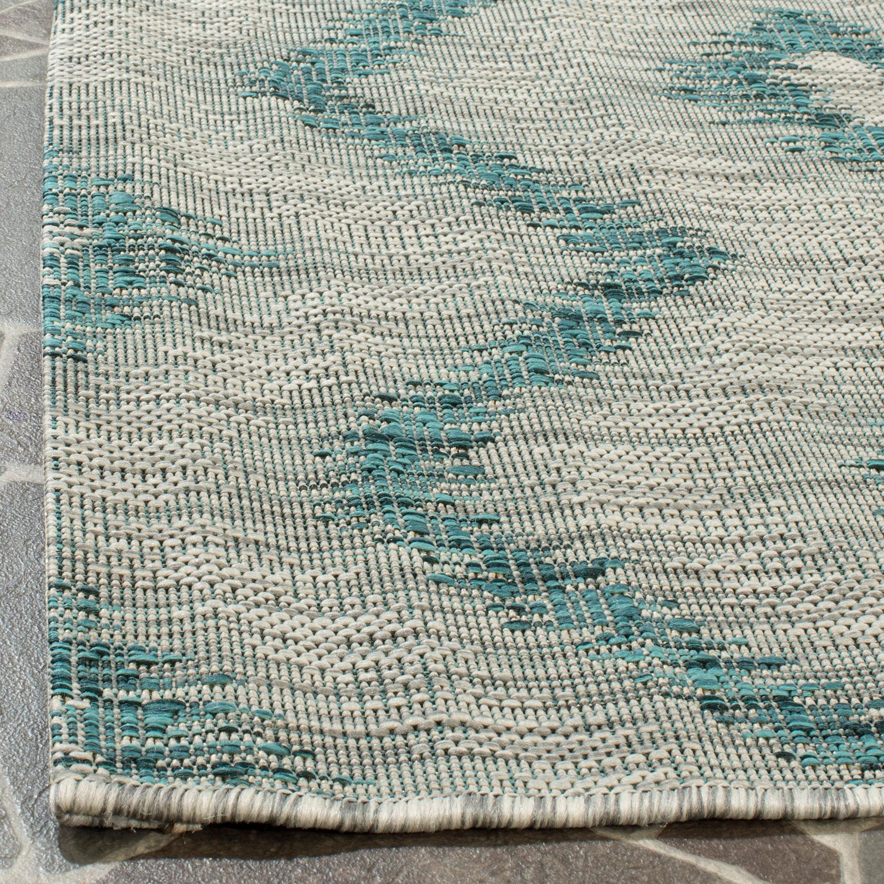 Blue Grey Outdoor Rug All Weather Rugs Safavieh Com