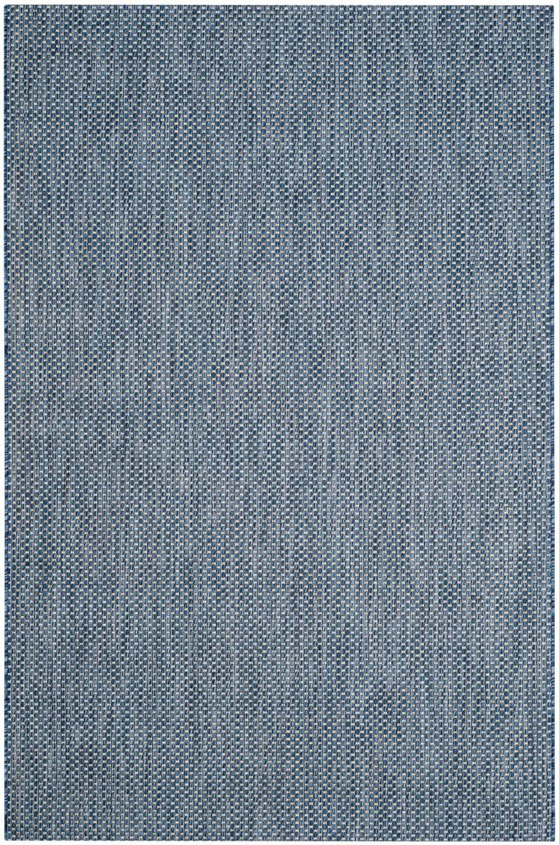Indoor Outdoor Rug | Courtyard Navy & Gray Rug – Safavieh