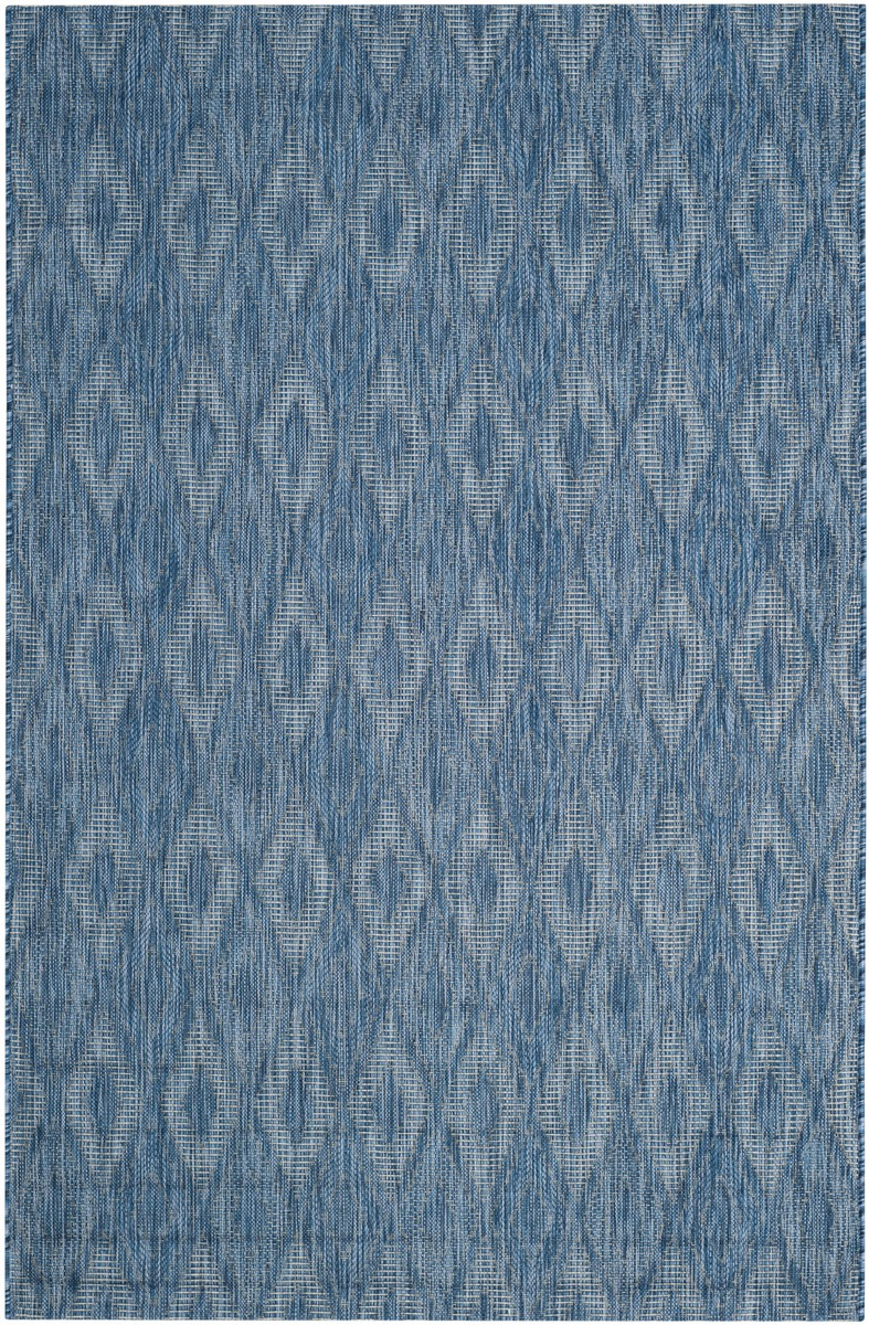 Blue Indoor-Outdoor Rug | Safavieh Courtyard CY8522-36822
