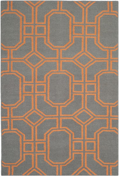 orange pattern rug contemporary flat weave rugs dhurrie collection safavieh