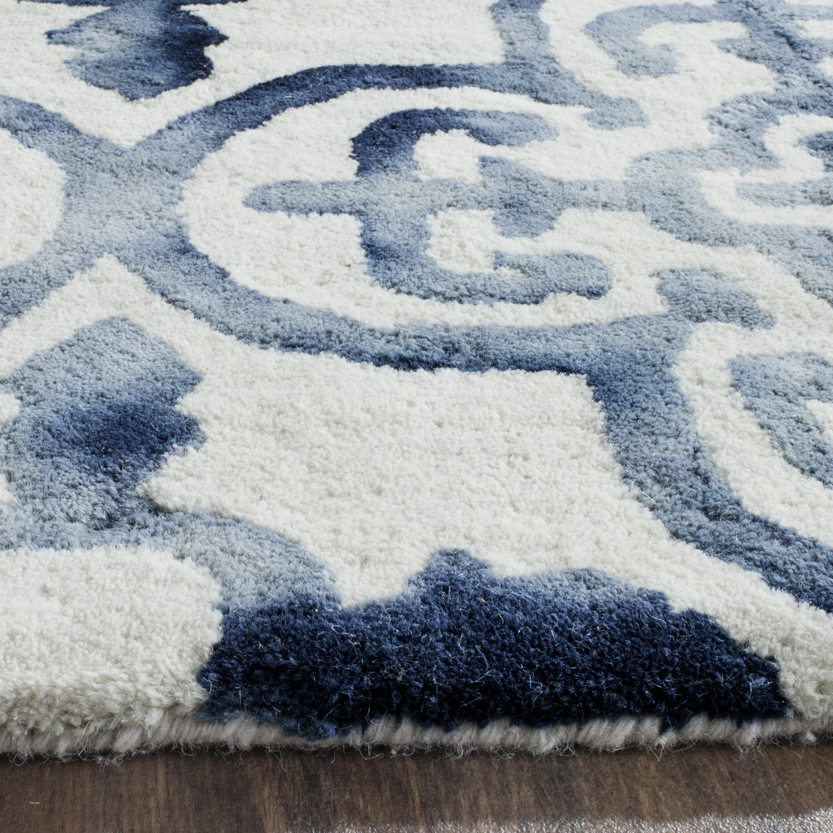 Beautiful Twice Dyed Rugs | Moroccan Tile Tie Dyed Rug - Safavieh FE01