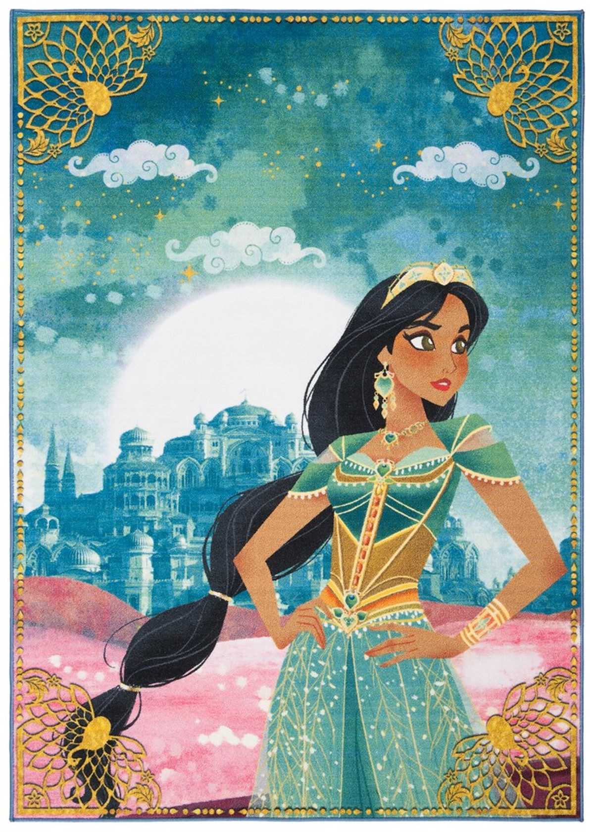 Rug Dsn537k Free To Dream Disney Aladdin Area Rugs By