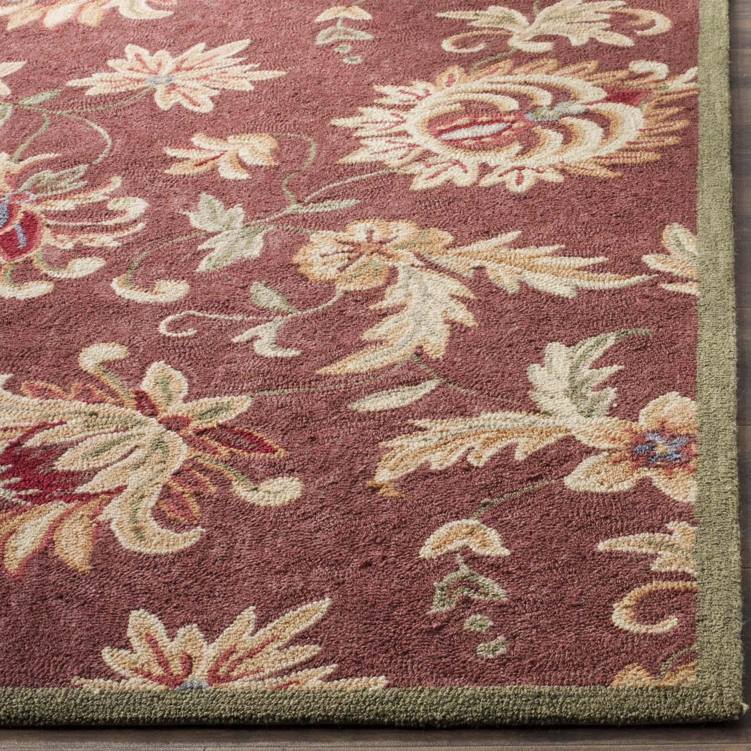Rug ezc121a easy care area rugs by safavieh for Easy rugs