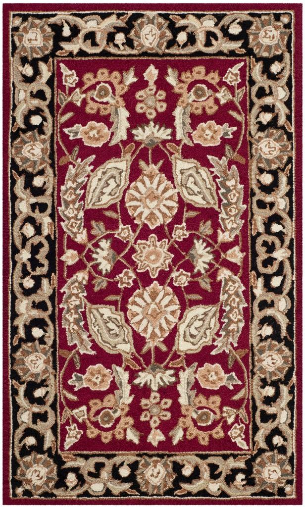 Rug ezc454a easy care area rugs by safavieh for Easy rugs