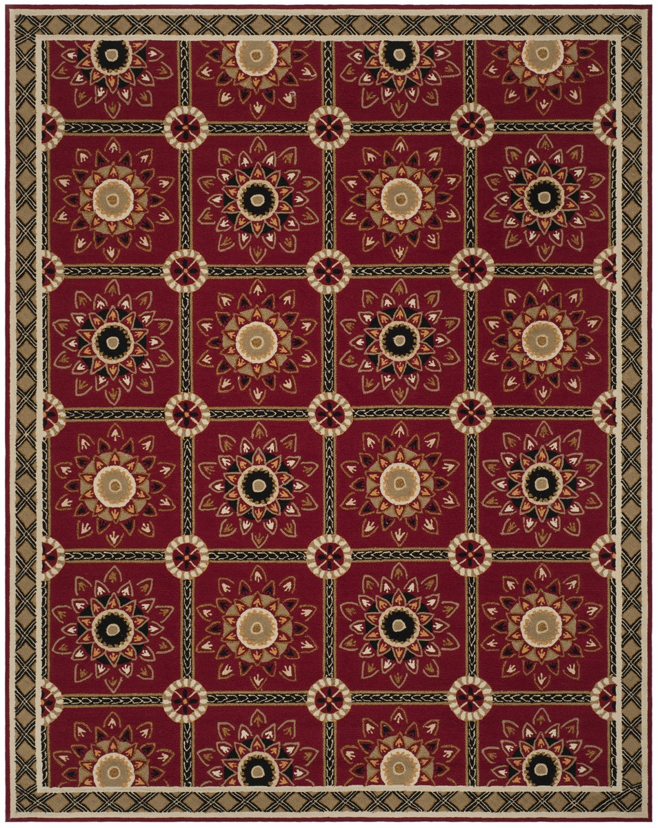 Rug ezc711a easy care area rugs by safavieh for Easy rugs