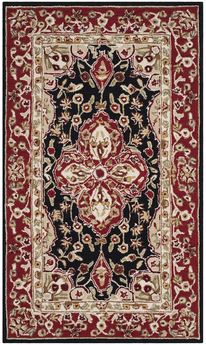 Rug ezc718b easy care area rugs by safavieh for Easy rugs